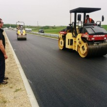Dynapac rollers at work