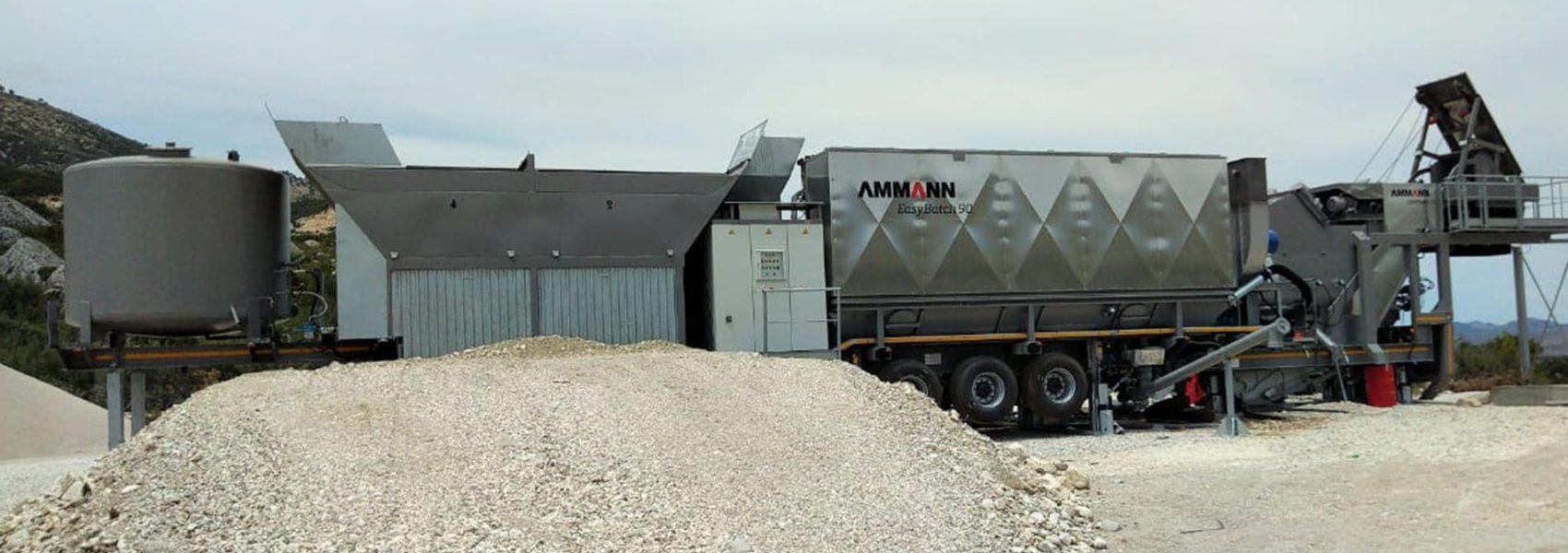 Impiant Asfalti I levizshem Ammann EB90